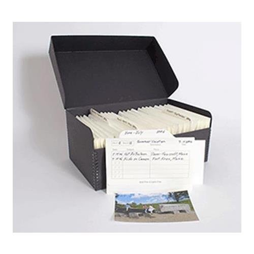 Archival Methods Archive Box 900 Kit for 4x6 Photos by Archival Methods