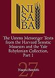 Umma Messenger Texts from Harvard and the YBC, Part 1 (Nisaba)