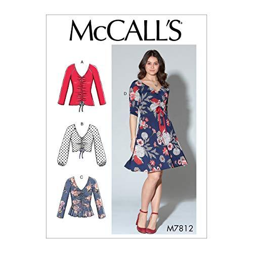 McCall's Patterns McCall's M7812 Women's V-Neck