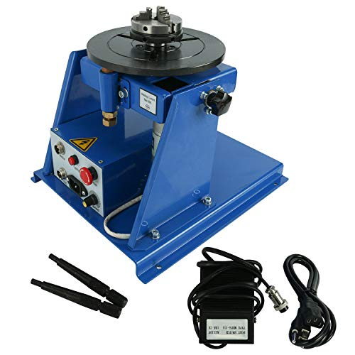Rotary Welding Positioner Rotary Welding Table Welding Turntable 5-10KG 2-10 RPM