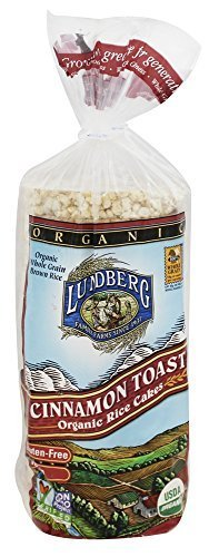 Lundberg, Organic Rice Cakes, Cinnamon Toast, 9.5 oz (269 g) by Lundberg