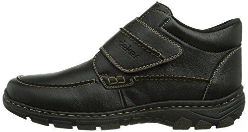 00 Noir Homme Rieker 19992 schwarz Boots 5wggAWIPxq