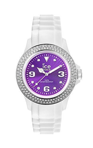 Ice-Watch - ICE star White Purple - Reloj bianco para Mujer con Correa de