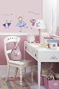 RMK1015SCS Fairy Princess Wall Decals