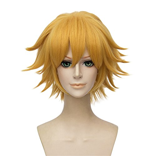 [LanTing Cosplay Wig Miraculous Ladybug chat noir Blonde Cosplay Party Fashion Anime Human Kostüm Full Wigs Synthetic Hair Heat Resistant Fiber] (Female Flasher Adult Costumes)