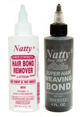 Natty Weaving Bond(4oz) + Remover(4oz) Set