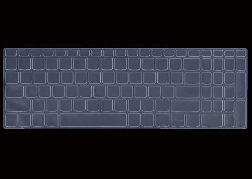 Saco Chiclet Keyboard Skin Protector Cover for Lenovo Ideapad L340 Gaming Laptop