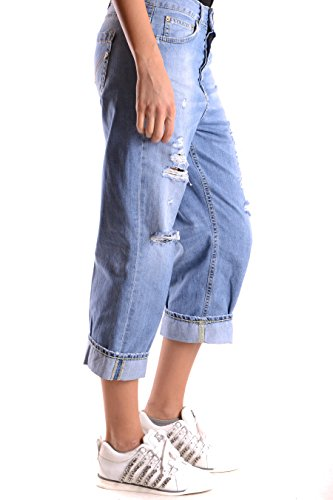 Jeans Dp090df124dl23800 Cotone Blu Donna Dondup dEYq6Fwd