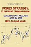 img - for Forex Strategy: ST Patterns Trading Manual, EUR/USD Chart Analysis Step by Step, 300% for One Month book / textbook / text book