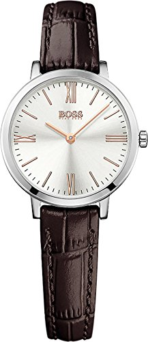 Hugo Boss Women's 1502393 Brown Leather Quartz Watch