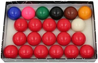 CAAA - Bolas 57,2 mm para billar Snooker: Amazon.es: Deportes y aire libre