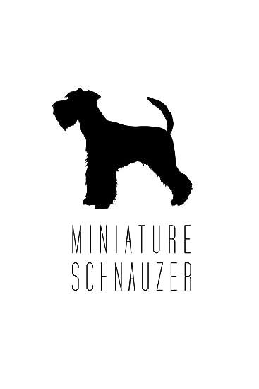 Amazon.com: Perros – Figura de perro Schnauzer miniatura ...