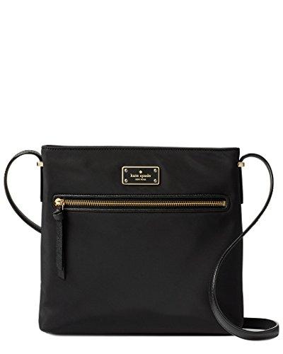Wilson Nylon Nylon Crossbody Kate Road Handbag Spade Dessi Black 4xqT5vT