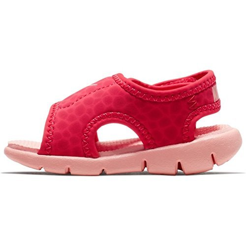 14222f229d3 Galleon - NIKE Sunray Adjust 4 (TD) Baby-Boys Slippers 386521-608 9C -  Tropical Pink Bleached Coral