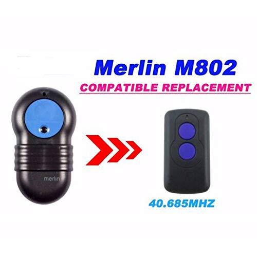 Calvas 10pcs Merlin M802 repalcement remote control