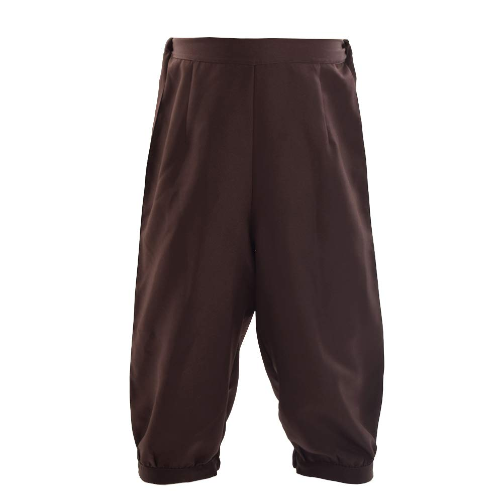 Men's Steampunk Clothing, Costumes, Fashion BLESSUME Retro Colonial Pants Renaissance Mens Knicker Pants Breeches $25.59 AT vintagedancer.com
