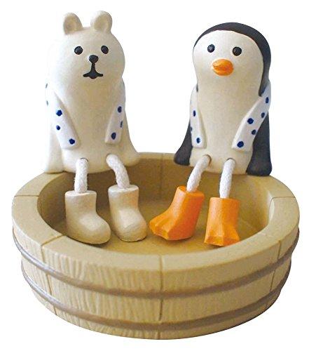 Figura pingüino sentado en flotador de Japón: Amazon.es: Juguetes y juegos