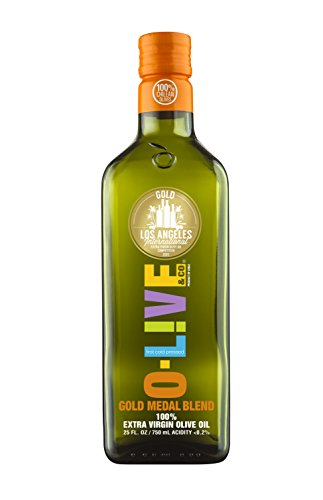 O-Live & Co. - Gold Medal Blend - Chilean Extra Virgin Olive Oil - 750ml - Non-GMO
