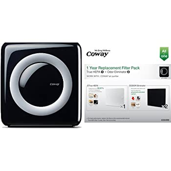 coway ap 1512hh mighty air purifier with true hepa and eco mode and coway. Black Bedroom Furniture Sets. Home Design Ideas