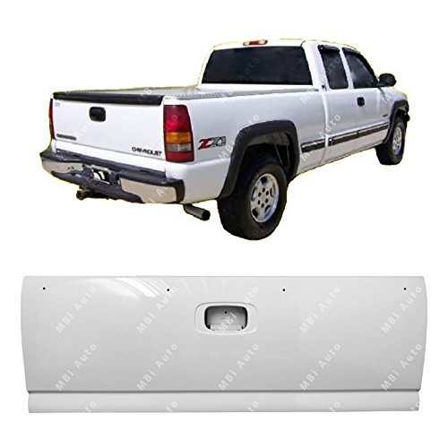 MBI AUTO - Painted 8624 White Steel Tailgate Shell for 1999-2006 Chevy Silverado & GMC Sierra 99-06, GM1900115 ()