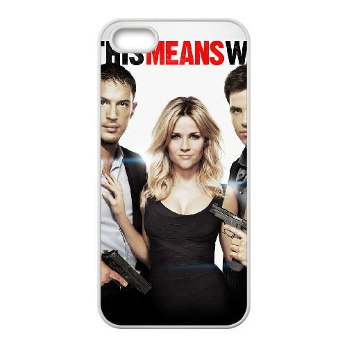 D5T16 This Means War Haute Résolution Affiche W8S8XQ coque iPhone 5 5s cellulaire cas de téléphone couvercle de coque blanche KS3LFK4OK