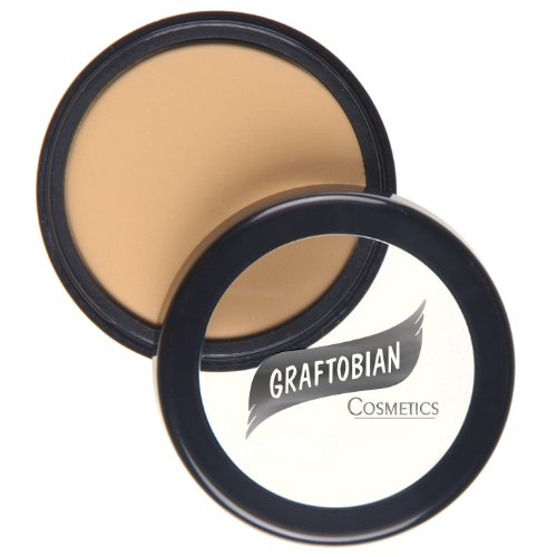 Fair Creme Foundation - Graftobian HD Crème Foundation 1/2oz, Lady Fair (N)