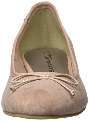 Tamaris Damen 22201 Geschlossene Ballerinas Pink (Old Rose)