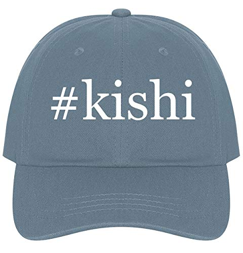 The Town Butler #Kishi - A Nice Comfortable Adjustable Hashtag Dad Hat Cap, Light Blue