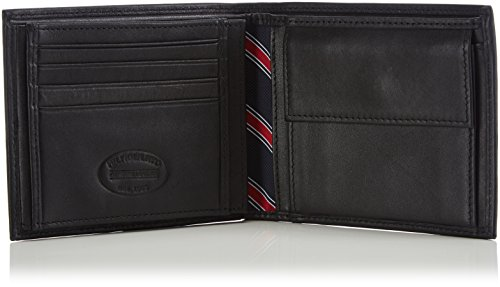 Amazon.com: Tommy Hilfiger, Men, Catera, eton trifold, black (black 2), 13x10x2 cm (B x H x T): Shoes