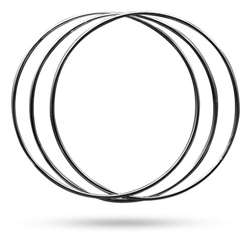 Magic Makers Linking Rings Medium 8 Inch Set of 8 Rings with DVD by Magic Makers (Image #1)