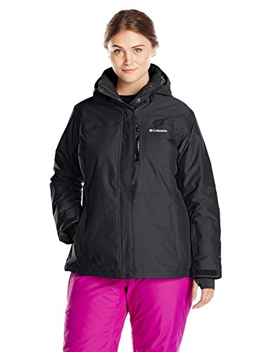 Columbia Women's Plus Alpine Action Oh Jacket, Black, 1X