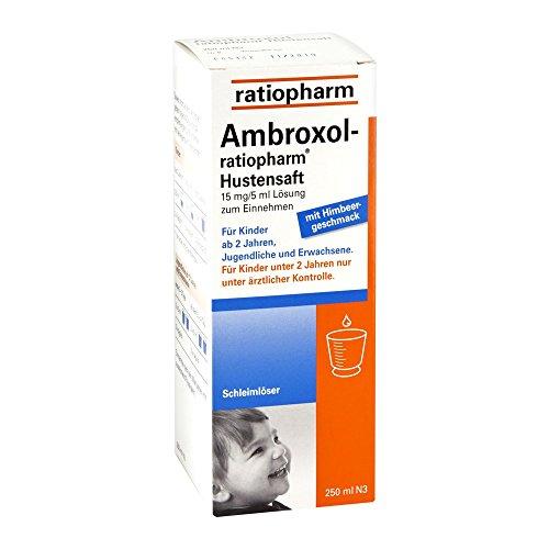 Ambroxol-ratiopharm Hustensaft, 250 ml