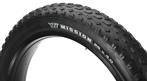 Vee Rubber Mission VRB-321 Folding Mountain Bicycle Tire (Black - 26 x 4.0)