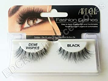a61c8fd623d Image Unavailable. Image not available for. Colour: Best Quality** Ardell  Fashion Eye Lashes 100% Human Hair** Demi Wispies