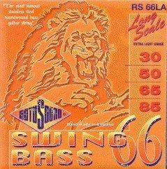 (CUERDAS BAJO ELECTRICO - Rotosound (RS/66/LA) Extra/Lite Swing/Bass (Juego Completo)
