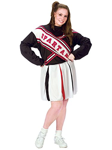 Female Spartan Cheerleader Costumes (Plus Size Spartan Cheerleader Womens Costume)