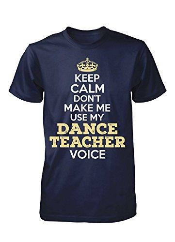 Dance Teacher Voice. Personalized Gift - Unisex Tshirt