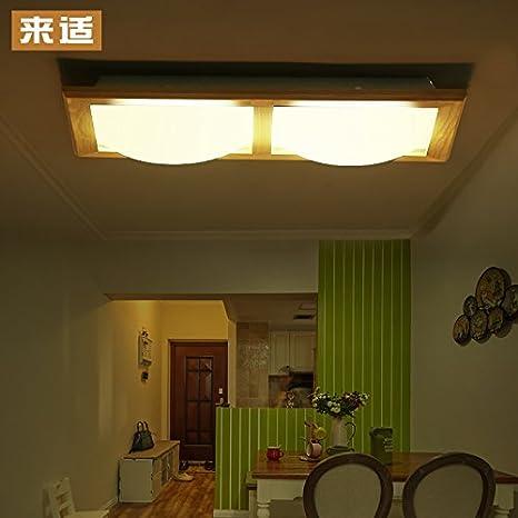 SDKKY Techo madera maciza simple estudio chino moderno ...