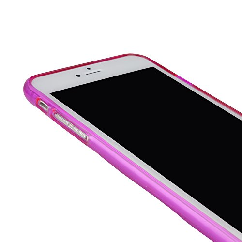 BoxWave Apple iPhone 6 Plus Deelite Coque fine et Ultra Durable, coque de protection pour Apple iPhone 6 Plus TPU Coque avec Contours relevés sur l'arrière-iPhone 6 Plus Rose Pailleté