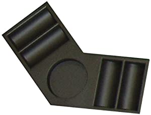 Trademark Corner Tray For Folding Table Top Chip Tray