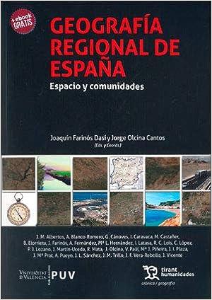 Geografía Regional de España: Espacio y comunidades: Amazon.es ...