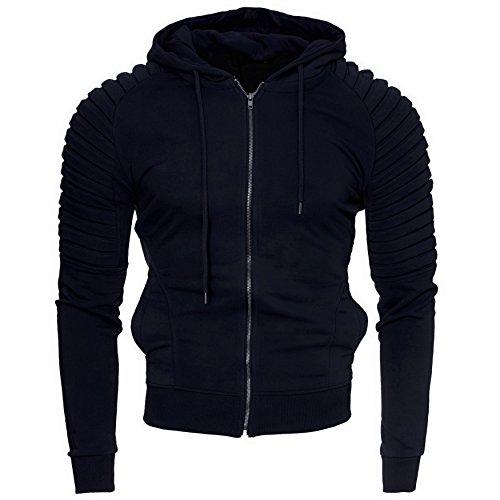 modello L Originale Sweatshirt Xl Xxl M Cappuccio Felpa York Giacca Navy Zip S Hoodie New Kayhan Uomo Con 2xl Aqxd4vv6
