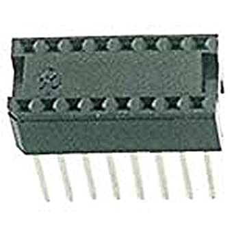 5259f51be4 Circuit Assembly 16S-T2WW-R IC Socket, 16 Pin, Wire Wrap Tin, 0.438