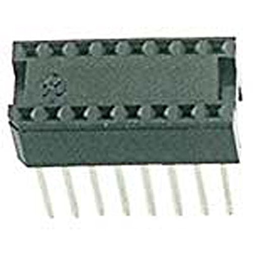 Circuit Assembly 16S-T2WW-R IC Socket, 16 Pin, Wire Wrap Tin, 0.438