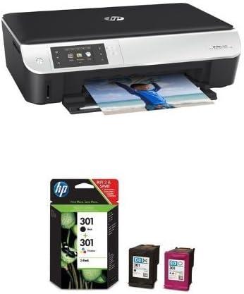 HP ENVY 5530 Pack - Impresora multifunción de tinta + Juego de 2 ...