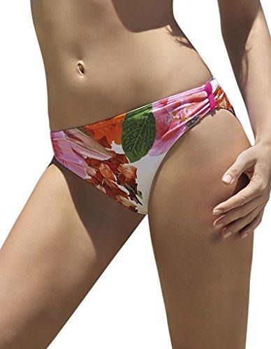 Sunflair 21015 Women's Tulip Garden Pink Floral Print Non-Padded Underwired Bikini Set
