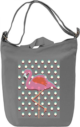 Pop Art flamingo Borsa Giornaliera Canvas Canvas Day Bag| 100% Premium Cotton Canvas| DTG Printing|