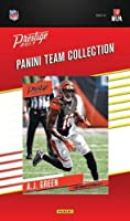 Cincinnati Bengals 2017 Prestige Factory Sealed Team Set with Andy Dalton, A.J. Green, John Ross and 4 other Rookies plus