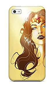 Iphone 5c Case Cover Skin : Premium High Quality Wonder Woman Portrait Case