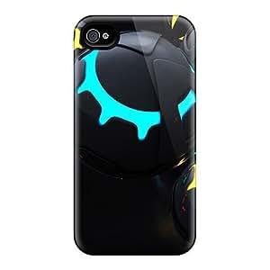 Premium Hvx2045GzER Case With Scratch-resistant/ 3d Balls Case Cover For Iphone 4/4s